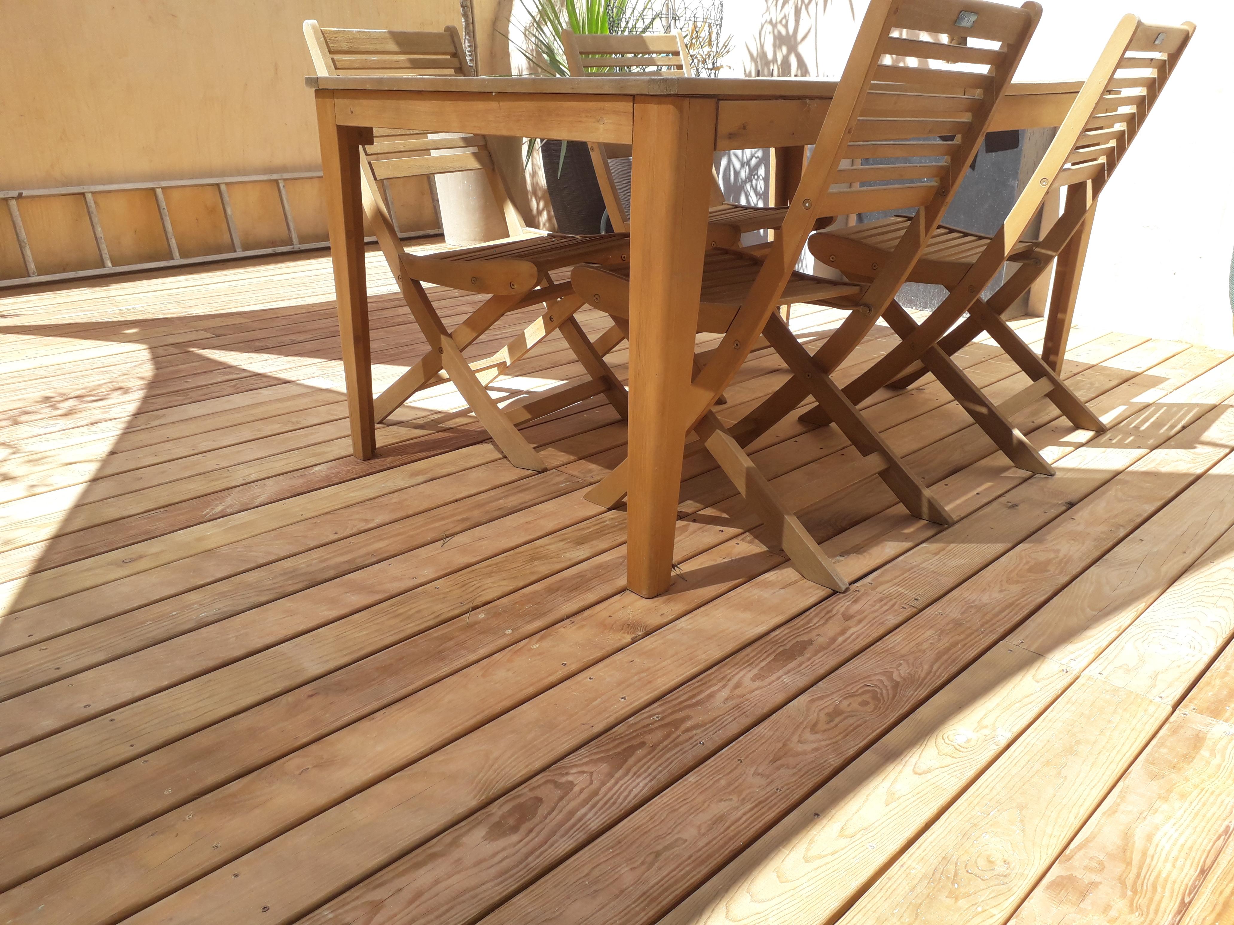 Terrasse en bois Français